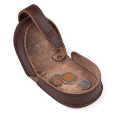 Saddleback Leather - Coin Purse - chestnut - $38.00