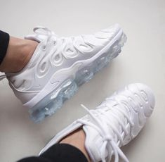 the latest e6013 849ba At TheShoeCosmetics all white trainers are the canvas, the fresh face to a  sneaker makeover. An all white pair of Nike tennis shoes are perfect ...