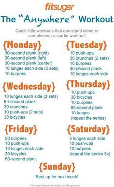 Going to follow this plan next week!