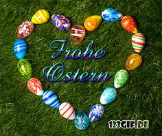 Happy Easter from Frohe Ostern von Happy Easter from - Garden Crafts, Diy Crafts, Happy Easter Greetings, Xmas Pictures, Mermaid Invitations, Christmas Napkins, Floral Letters, Good Foods For Diabetics, Easter Holidays