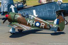 CAC Boomerang A46-122 / VH-MHR at Temora's Warbirds Downunder in 2015 #Avgeek #Aviation #Canon Canon Australia
