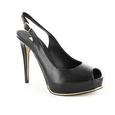 #Guess Black & Gold pumps