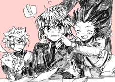 Hunter X Hunter 2011 || OML THIS IS SO CUTEEE !!!!!! (*´∇`*)