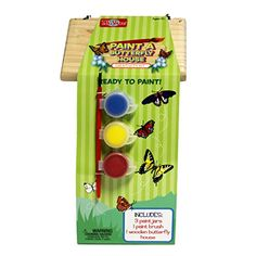 TS Shure Wooden Paint a Butterfly House Creativity Kit >>> Visit the image link more details.