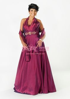 Plus Size Red Formal Dresses for Groom's Mother