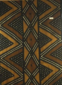 African Mud Cloth - Mali - Cotton - Heavy Weight - All Natural - Traditional Motif