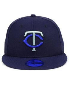 New Era Minnesota Twins Prism Color Pack 59Fifty Fitted Cap - Blue 7 Prism  Color 3a9e5266f923