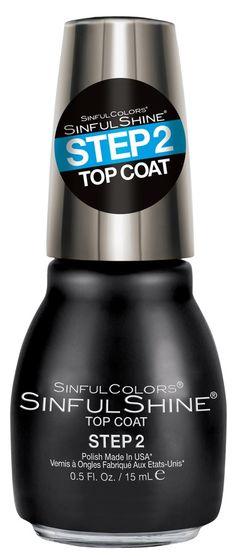 En transparent top coat neglelakk som gir ekstra glans til neglene. Kan brukes alene eller over en annen neglelakk for ekstra glans. Kylie Jenner har