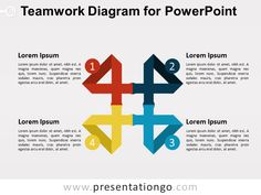 Yet Another Teamwork Diagram for PowerPoint