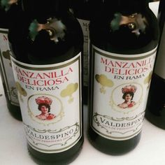 Valdespino Manzanilla deliciosa side by side tasting of 2015 and 2016 en rama at the Bft #sherrylover #sherrywine by sherrywinesjerez