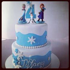 Disney Frozen Cake