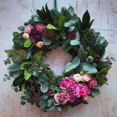 My Contemporary Christmas Wreath