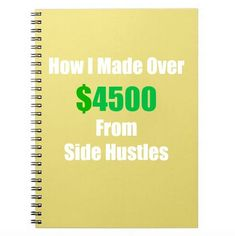 How this blogger made over $4500 in extra income from side hustles in 1 year! Money Making Ideas, Making Money, #MakingMoney