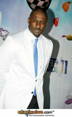 Suited ... Idris Elba