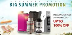 Vapor Joes - Daily Vaping Deals: BLOWOUT: BIG SUMMER PROMOTION UP TO 100% OFF?!?