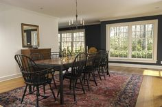 House on Turtle Back - traditional - dining room - new york - Joseph B Lanza Design + Building