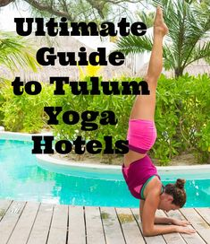 Nearly every day, travelers find this travel blog by searching for hotels in #Tulum that offer #yoga. I regularly answer questions on email and social media about the best hotels in Tulum #Mexico for yoga. So, I decided to finally get all of the information down in one place!  I present to you, in alphabetical order, every hotel on the beach in Tulum that offers yoga.