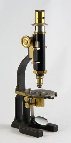 Polarizing microscope, R. Fuess, Steglitz, Berlin