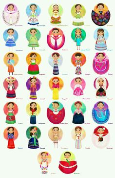 Mexican Traditional Costumes