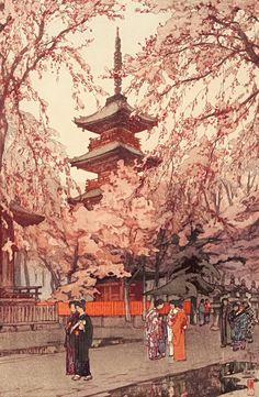 【アニメで見たい】明治・大正・昭和に「浮世絵を蘇らせた」吉田博の版画が、いまでもカワイイ | DDN JAPAN