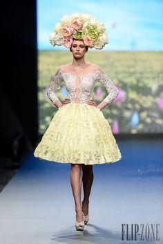 """Rami Kadi <span lang='fr'>""""Le Royaume Enchanté"""", </span>S/S 2014 - Couture - http://www.flip-zone.com/rami-kadi-4708"""