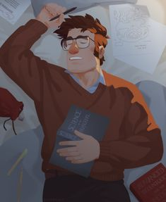 """sovonight: """"another commissioned ford ♡ """" Dipper Pines, Dipper And Mabel, Stan Gravity Falls, Gravity Falls Theory, Gavity Falls, Mystery, Oregon, Fall Pictures, Illusions"""