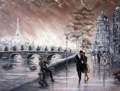 Paris Drawing, Original Paintings For Sale, Famous Artists, Christmas Art, Optical Illusions, Love Art, Contemporary Artists, Art Drawings, Art Gallery
