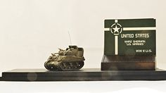 Metal Troops Creation Tank Series USA 1:144 Ratio M4A2 SHERMAN US MARINES White STAR Figure come with dispaly box MT-6034 Limited Edition - 600pc worldwide