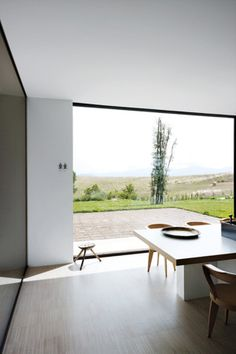 Piero Lissoni villa in tuscany  (having trouble finding the image source-let me know if you know it)