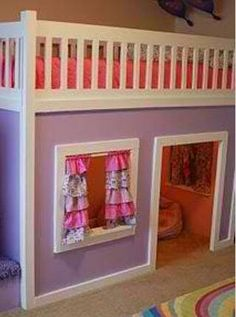 girls room--maybe not for a 3 yr old, but it's cute...