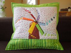 Think Summer!  Make the Rainbow Windmill Paper Piecing Pattern