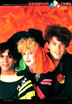 Thompson Twins Much Music, 80s Music, Dance Music, Rock & Pop, Rock And Roll, Taylor Dayne, Thompson Twins, 80s Trends, Frankie Goes To Hollywood