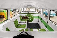 vw bus interior | plan to have leather and suede inserts like the lexus is300 seats ...