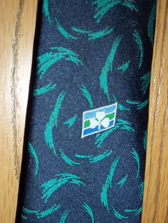 Careerline Necktie Tie Blue Green Shamrock Ireland Irish  #Careerline #NeckTie