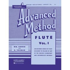 Rubank Advanced Method Flute. They also make a vol. 2 of this book.