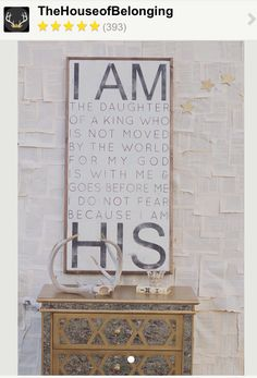 I AM HIS //change to son