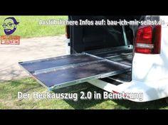 Heckauszug 2.0 für den VW T5 / T6 California Beach / Multivan - YouTube