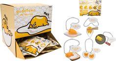 Tomy - Gudetama The Lazy Egg - Dangler - Blind Box - Styles May Vary, 67915