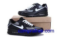 Comprar barato hombre Nike Air Max Zapatillas (color:negro,blanco) en linea en Espana. Air Max 90, Nike Air Max, Jordans Sneakers, Air Max Sneakers, Air Jordans, Zapatillas Nike Air, Color Negra, Shoes, Fashion
