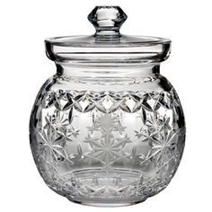 """Waterford - Snowflake Wishes """"Goodwill"""" Kerry Biscuit Barrel. Want this so bad, but it's $375!"""