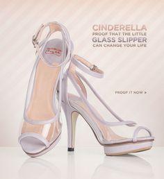 Cinderealla Crystal Shoes
