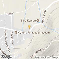 Mapa Kaprun Map, Kaprun, Vehicles, Location Map, Maps