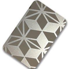 Etching Stainless Steel Sheet-Saipeng Stainless Steel #stainless #steel #etched #sheet #elevator #decoration #design #art #material #panel #plate