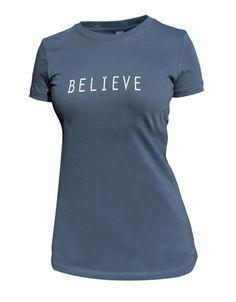 My #FavoriteEndorphinWarriorProducts #Fitness #Inspiration BELIEVE Empower Tee - Women  EndorphinWarrior.com