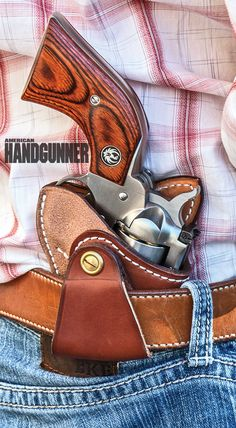 Ruger's (@rugerfirearms) Single-Seven .327 Federal Magnum is the ultimate trail gun. Are you wondering what the other reasons are? Head on over to the link below to find out! | Click here: http://americanhandgunner.com/?p=38448 |