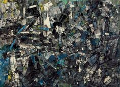 Jean Paul Riopelle: 1923 – 2002 — Daily Art Fixx - a little art, every day The texture of depth of this piece STILL resonates Tachisme, Art Quotidien, Museum Collection, Museum Of Modern Art, Sculpture, American Artists, Abstract Art, Abstract Paintings, Les Oeuvres