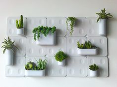If you're living in a tiny apartment you're unlikely to have a lot of outdoor/patio space, if any. Just because you have a small apartment doesn't mean you can't also have a few plants or a whole garden. Bring some life into your living space with the Urbio vertical garden. As seen on SharkTank, Urbio takes advantage of your wall's surface area. The units are modular meaning you can design your vertical garden however you please.