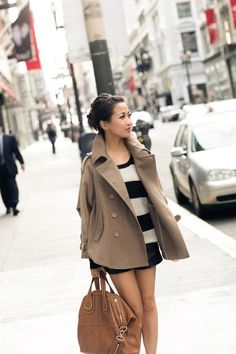 Caramel Candy :: Trench cape & Nightingale bag