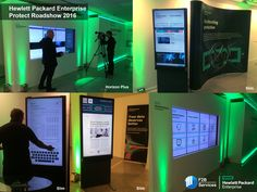 HP Enterprise Protect Roadshow 2016, featuring our Horizon Plus and Slim units!
