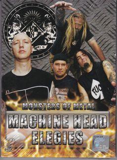 MACHINE HEAD Elegies DVD Monsters of Metal NTSC PAL Region All Free Shipping